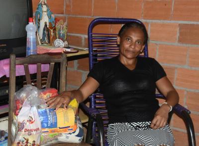 Damiana Pereira Coelho contou que o auxílio veio no momento certo