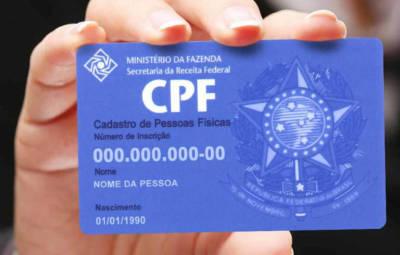 NFC-e deve constar número do CPF