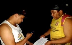 Fiscais conferiram documentação dos pescadores, mas não houve aplicação de multas