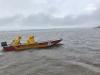 Ação dos mergulhadores tem tido as chuvas constantes como empecilho