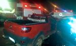 Bombeiros retiram corpo de motorista preso às ferragens após colisão, em Paraíso do Tocantins