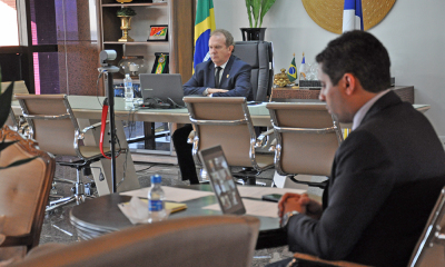 Governador Mauro Carlesse estabelece carga horária de 6 horas dos servidores até final do mês de maio.