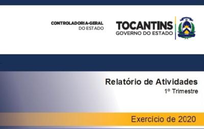 Relatório de Atividades - Exercício 2020 - 1º Trimestre