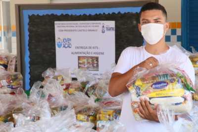 O estudante Murilo Olímpio da Silva, do Centro de Ensino Médio Presidente Castelo Branco, em Colinas, destacou a importância dos kits