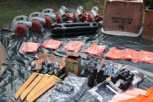 Novos materiais de uso dos brigadistas nas UCs do Tocantins