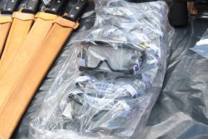 Óculos de proteção para uso dos brigadistas nas UCs do Naturatins