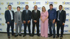 Presidente do CRC-TO, João Gonçalo (ao centro da foto), ressaltou que a Jucetins não mede esforços para melhor adequar as ferramentas tecnológicas