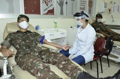 Hemocentro precisa de todos os tipos sanguíneos, número de doadores diminuiu nesse período de pandemia