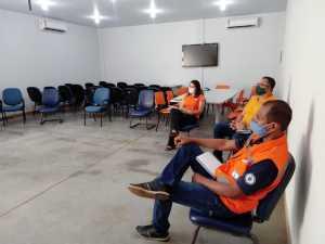 Reunião do Naturatins com parceiros na Defesa Civil do Estado