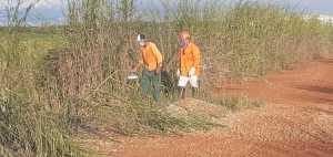 Supervisor da APA Lago de Palmas e brigadista em área de risco de queimadas no município de Porto Nacional