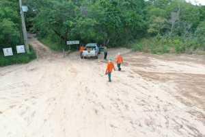 Brigadistas contratados e treinados pelo Naturatins em anos anteriores participaram das ações no Jalapão