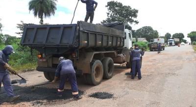 A rodovia já  recebeu intervenções em 48 km