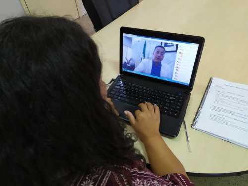 A reunião virtual reuniu representantes da região das Serras e Lago