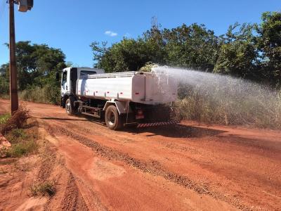 No São João, em Porto Nacional, mais de 20 km de estradas serão contempladas com os serviços