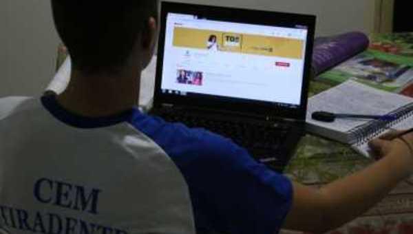 Estudantes da rede estadual poderão acessar os materiais de preparação para o Enem de diversas formas e estudar em casa para o exame - Márcio Vieira/Governo do Tocantins