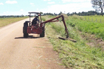 TO-164 recebe roçagem mecanizada nas margens de mais de 100 km da rodovia.