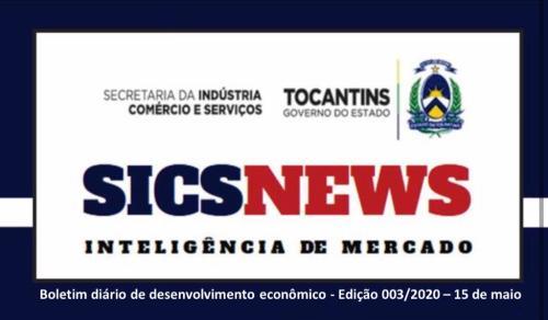 SicsNews - informações, dados e notícias sobre economia mundial, brasileira e tocantinense
