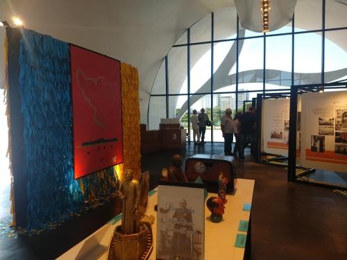 O Memorial Coluna Prestes é uma obra arquitetônica assinada por Oscar Niemeyer