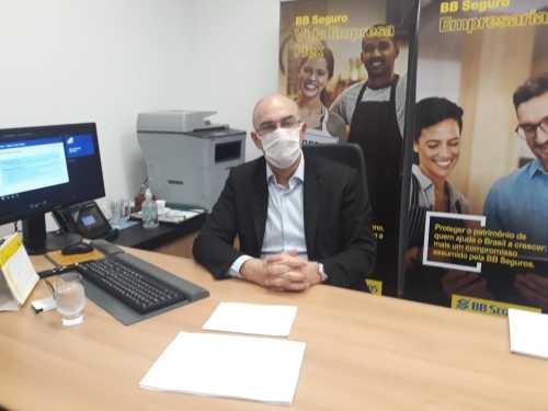 Superintende do Banco do Brasil, Raul Mohamed apresenta linhas de créditos oferecidas pela instituição