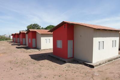 O programa prevê a construção de 183 unidades habitacionais no Jardim Taquari