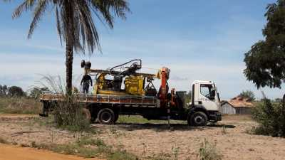 Perfuratriz da ATS já está no município para perfuração de novo PTP
