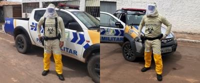 Policiais militares da 3ª Cia_Bela Vista_usando EPI_400.jpg