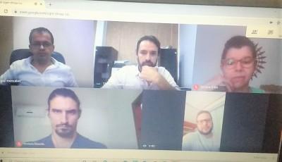 Reunião foi realizada por videoconferência