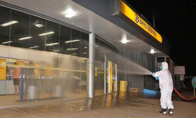 Produto será aplicado no período noturno nos locais que concentram maior aglomeração durante o dia -