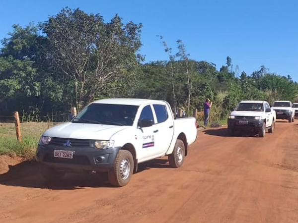 Caravana do Governo do Tocantins esta percorrendo assentamentos rurais da região sul do estado