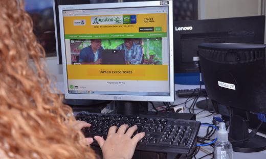 Participantes terão acesso ao conteúdo da Agrotins 2020 100% Digital, a partir das 8 horas do dia 27
