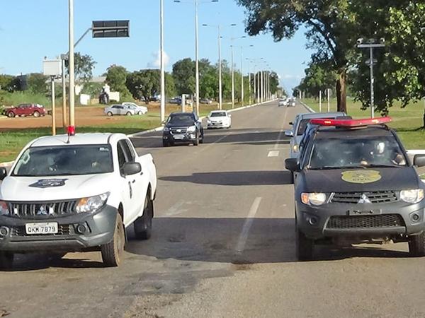 Polícia Civil faz escolta de preso vindo do Pará