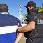 Preso chegou em Palmas e foi conduzido para a sede da DEIC