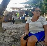 Maria Madalena, de 63 anos, temendo  contrair a doença, resolveu não sair de sua pequena propriedade próxima ao município de Cariri, no assentamento Coimbra. Ela foi uma das beneficiadas com as cestas básicas do Governo do Tocantins
