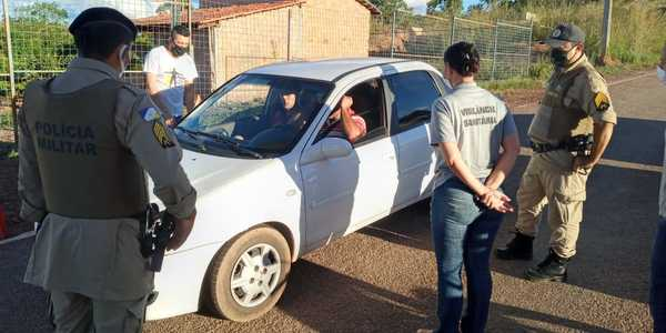 PM realiza abordagem na operação Lockdown em Palmas