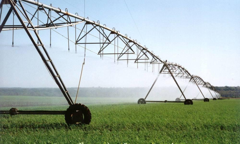 Projetos de irrigação demandam grande volume de água