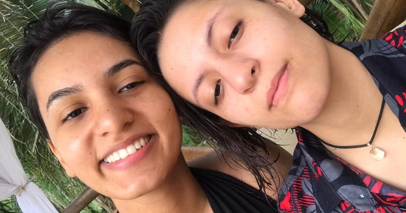 Phatricia e Hianca consideram que a denúncia de ato homofóbico pode acabar a discriminação