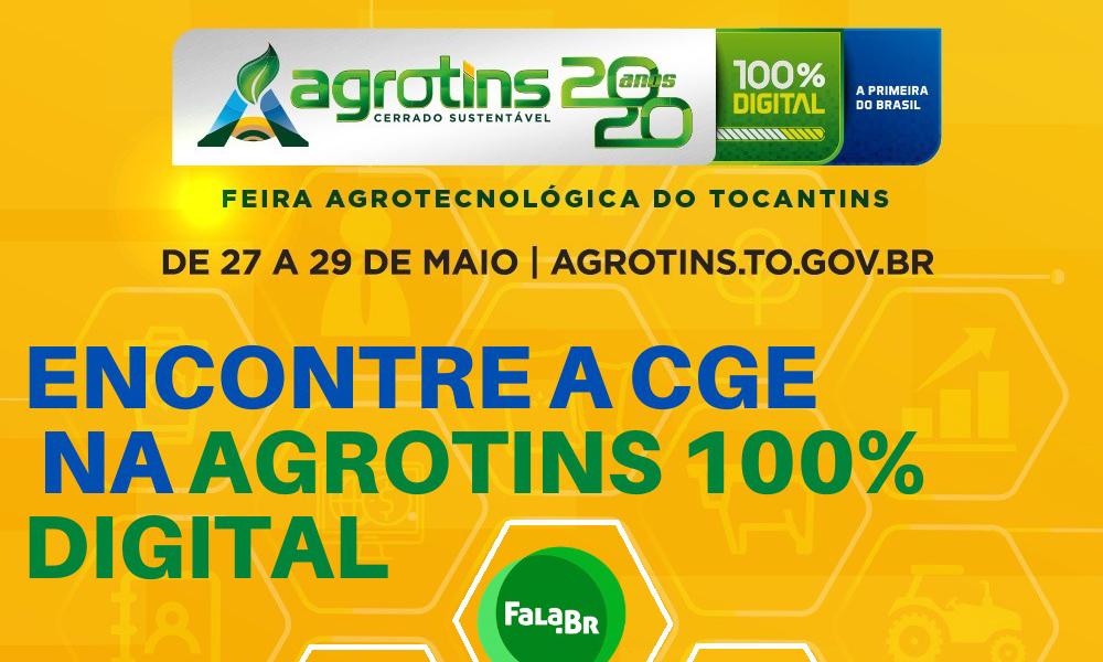 FEIRA DO AGROTINS SERÁ REALIZADA EM FORMATO 100% DIGITAL.