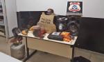 Objetos furtados foram recuperados e suspeito preso em Miracema
