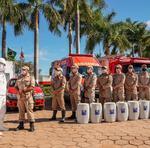 Doação dos 2,5 mil litros de hipoclorito vai beneficiar diversas cidades do Tocantins, na campanha contra o novo Coronavírus