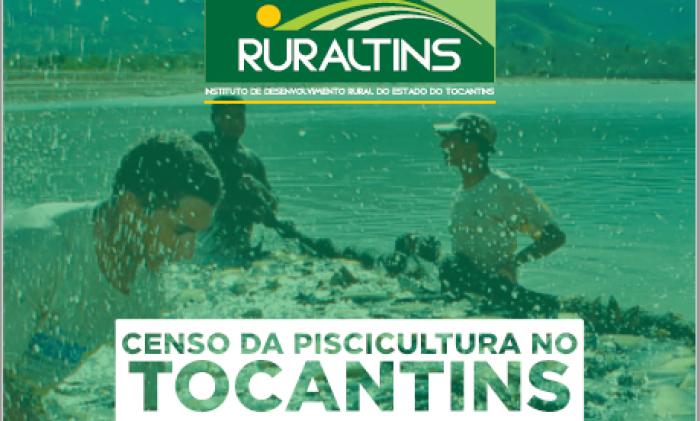 Conforme o Censo da Piscicultura, a cadeia produtiva está presente em 117 municípios tocantinenses