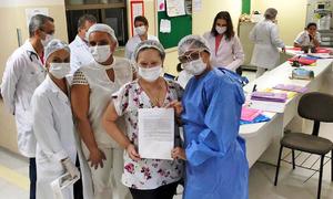 Cartas de Esperança continuam com ações envolvendo profissionais de saúde