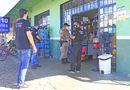 Forças de Segurança, Polícias Civil e Militar, participaram da ação educativa