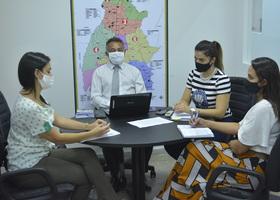 Sala de Suporte Empresarial conta com equipe de gestores da pasta