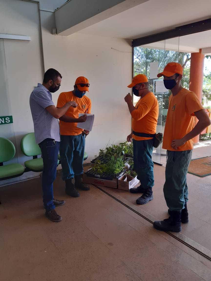 No Dia Mundial do Meio Ambiente, brigadistas da APA Serra do Lajeado entregam mudas de plantas nativas do Cerrado na Associação Água Doce