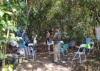 Acampamento localizado dentro do Parque Estadual do Cantão