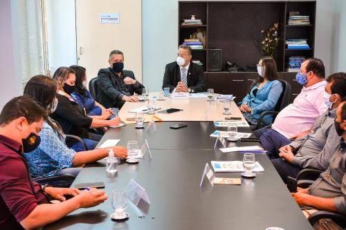 Reunião desta terça envolveu gestores municipais e estaduais