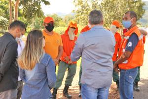 Representantes dos órgãos ambientais alinham ações em torno da prevenção aos incêndios florestais
