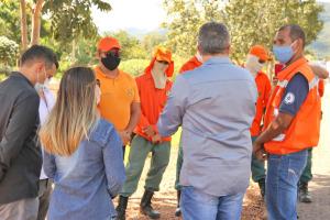 Representantes dos órgãos parceiros definem ações de prevenção aos incêndios florestais