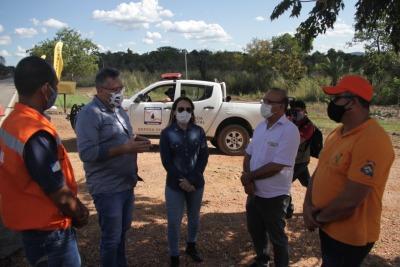 Secretária Juliana Passarin conhece , inloco, as vantagens do projeto