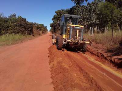 Serviços de manutenção visam  melhorar a trafegabilidade e a segurança das rodovias tocantinenses.